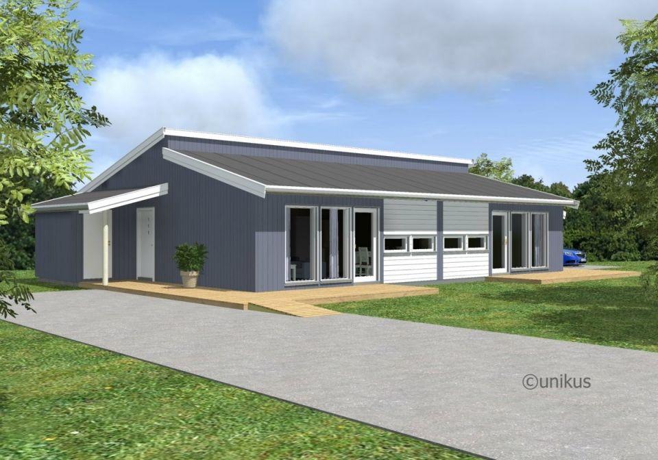 Nye eneboliger og leiligheter på Leland